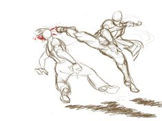 -- Share via Artstation iOS App, Artstation © 2016 Figure Drawing Reference, Drawing Reference Poses, Fighting Drawing, Poses References, Arte Sketchbook, Art Poses, Anatomy Art, Drawing Base, Art Drawings Sketches