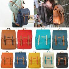 Backpack For Women Ladies Girls School Bag Student Book Shoulder Laptop Satchel