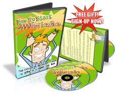 How To Start A Weight Loss Blog - The complete beginners guide to setting up a weight loss blog. #freegift #freeweightlossbloggingebook