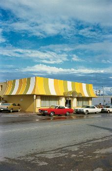 William Eggleston - Los Alamos - first exhibition of color photography