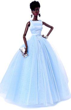 Barbie Integrity Timeless Adele Makeda Dressed Doll Gift Set 2015 NIB - RARE - Tiny Frock Shop