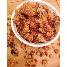 I am a huuuuggge granola/granola bar junkie! I try to opt for the healthier granola bars so that's exactly why I decided to whip up my own batch myself. Granola and granola bars (especially all of ...