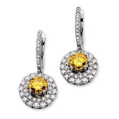 14kw Emma Grace Round Cultured Diamond Earrings - SalmaJewelry.com  $17,472.12