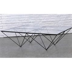 mariant verre et acier la table basse de salon design jointed du designer belge filip janssen. Black Bedroom Furniture Sets. Home Design Ideas