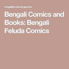 Bengali Comics and Books: Bengali Feluda Comics