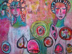 Mihaela Moldovan Perianu Art: INTUITIVE PAINTING