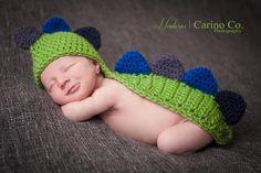 Crocheting: Dinosaur Photo Prop.