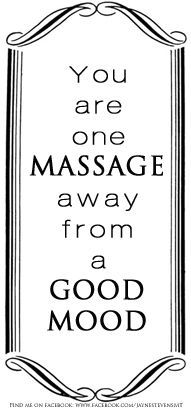 You are one Massage away