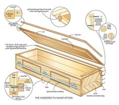 DIY Coffin...only repinning this because I was so confused. I suppose you can find anything on pinterest...