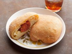 West Virginia Pepperoni Roll -- Re-create the West Virginia convenience store snack by filling dough pockets with shredded mozzarella and a pepperoni stick. #AcrosstheCountry