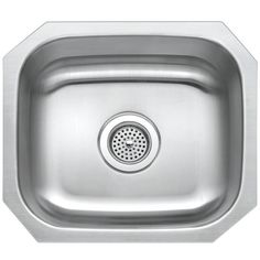 Buy the PROFLO Stainless Steel Direct. Shop for the PROFLO Stainless Steel Single Basin Undermount Stainless Steel Kitchen Sink and save. Undermount Stainless Steel Sink, Undermount Sink, Single Bowl Kitchen Sink, Farmhouse Sink Kitchen, Kitchen Sinks, Kitchen Island, Kitchen Flooring, Kitchen Countertops, Utility Sink