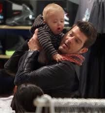 Image result for robin thicke wife baby Robin Thicke Wife, Bean Bag Chair, Homes, Baby, Image, Design, Houses, Beanbag Chair