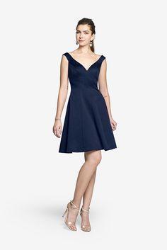 Gather and Gown Bristol | Short Satin Bridesmaid Dress