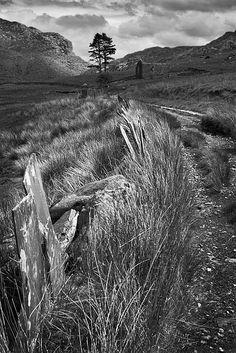 Cwmorthin Chapel. Fine Art Landscape Photography by Gary Waidson