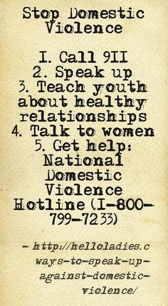 domestic violence | domestic violence