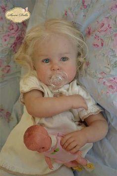 Reborn Toddler Girl, Toddler Dolls, Reborn Baby Dolls, Ooak Dolls, Art Dolls, Twin Girls, Baby Girls, Velvet T Shirt, Lifelike Dolls