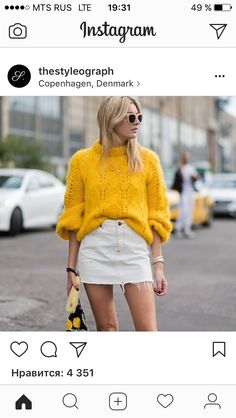 The Best Street Style from Copenhagen Fashion Week Pullover Outfit, Looks Street Style, Jeans Rock, Inspiration Mode, Mode Outfits, Autumn Winter Fashion, Who What Wear, Knitwear, Womens Fashion