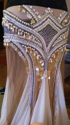 Wonderful costume beading work