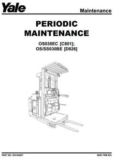 Yale Mpb40 Service Manual