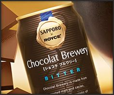 Sapporo  Brewery x Royce Confections Chocolate Beer