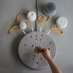 Instrument de musique Neo par Lola Gielen • Journal du Design   ● NEO • music instrument that everybody can play    Designer :  Lola Gielen ( Nederlands)