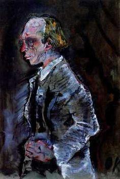 Herwarth Walden,  par Oskar Kokoschka