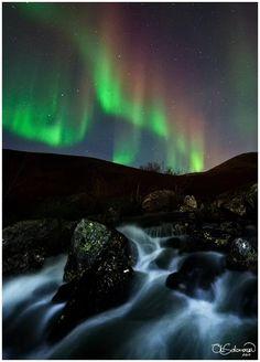 """Autumnal Airglow""    From last night, nov.4th 2011.    Copyright: Ole Christian Salomonsen"