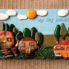 #taş #boyama #taşboyama #stone #art #rock #stoneart #hediyelik #tablo #handmade #hand #made #elemeği #el #emeği #ay #taş #sanat #aytaşsanat #taşsanatı#paintingstones #10marifet