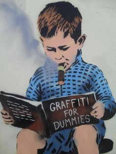 GRAFFITI FOR DUMMIES....JPS - Street Artist