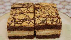 Parádne karamelové rezy Brownie Cupcakes, Russian Recipes, Wedding Desserts, Sweet And Salty, Desert Recipes, Graham Crackers, No Bake Cake, Just Desserts, Amazing Cakes