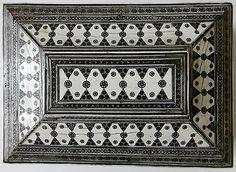 Sadeli Mosaic Sewing Box and Accessories, Anglo-Indian circa 1860.