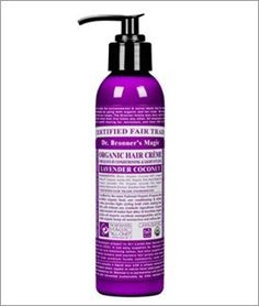Dr. Bronner - Lavender & Coconut Hair Conditioner & Styling Creme, 6 fl oz cream by Dr. Bronners Magic Soaps, http://www.amazon.com/dp/B0017QK7A4/ref=cm_sw_r_pi_dp_Pm7Prb0J3Q9RM