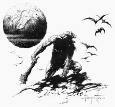 Frank Frazetta - At The Earth's Core