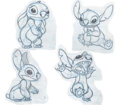 Stitch Basic Shapes-  Assignment || CHARACTER DESIGN REFERENCES | Find more at https://www.facebook.com/CharacterDesignReferences