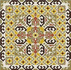 Needlepoint Designs, Needlepoint Pillows, Diy Embroidery, Cross Stitch Embroidery, Cross Stitch Designs, Cross Stitch Patterns, Cross Stitches, Cross Stitch Cushion, Palestinian Embroidery