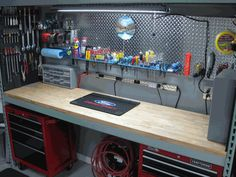 Make the garage another room in your house with Car Guy Garage. We carry garage storage, flooring, decor, cabinets and all the accessories you need to make your dream garage. Plan Garage, Garage Workshop Plans, Garage Workshop Organization, Garage Tool Storage, Garage Shed, Man Cave Garage, Garage Metal, Garage Atelier, Garage Accessories