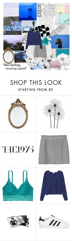 """""""WE GIVE EACH OTHER PIECES OF YOURSELVES"""" by perfxct-escape ❤ liked on Polyvore featuring Monki, Helmut Lang, Chanel, adidas Originals, Frette and kylees_magazines"""