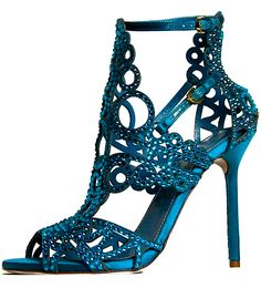 Sergio Rossi- I could never wear them, but I could certainly stare at them all day and drool. :)