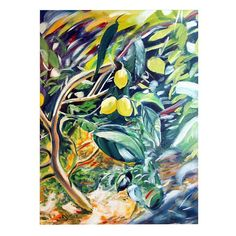 I pinned this Lemon Tree Canvas Print from the Style Study event at Joss & Main!