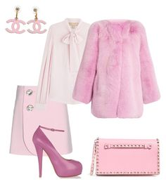 """Scream Queens 4"" by kamiren ❤ liked on Polyvore featuring Marni, Michael Kors, Gucci, Valentino and Giuseppe Zanotti"