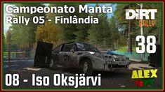 Dirt Rally 38 - Opel Manta - Iso Oksjärvi