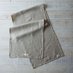 Heirloomed Linen Table Runner