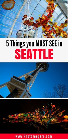 If you only have one day in Seattle, you want to make the best of it! Check out our One Day Seattle Itinerary to capture amazing photographs of a fun, eclectic city; iconic sites and colorful and unique art. This guide also includes a list of 5 things you must see and do in Seattle. Don't forget to save this Seattle guide to your travel board.