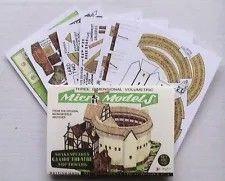 MICROMODEL Cripplegate Set Arc III Micro de nouveaux modèles Carte Model Kit