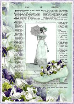INSTANT DOWNLOAD Vintage French Regency by SenecaPondCrafts
