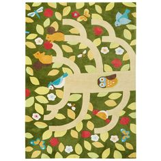 Jaipur Iconic By Petit Collage Treetop IBP11 Rug