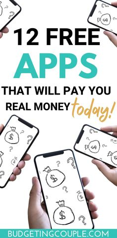 Make Money From Home, Way To Make Money, Make Money Online, Best Money Making Apps, Apps That Pay You, Extra Money, Extra Cash, Money Today, Making Ideas