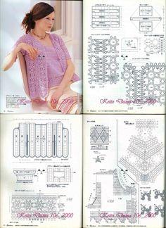 Crochet Lacy Twinset