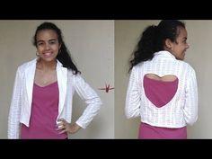 Molde blazer feminino por Alana Santos Blogger - YouTube