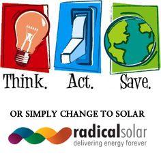 Thinking to Go green  Let us help you adapt to renewable energy  for life. #gosolar #solarenergy #lovesolar #ecoenergy